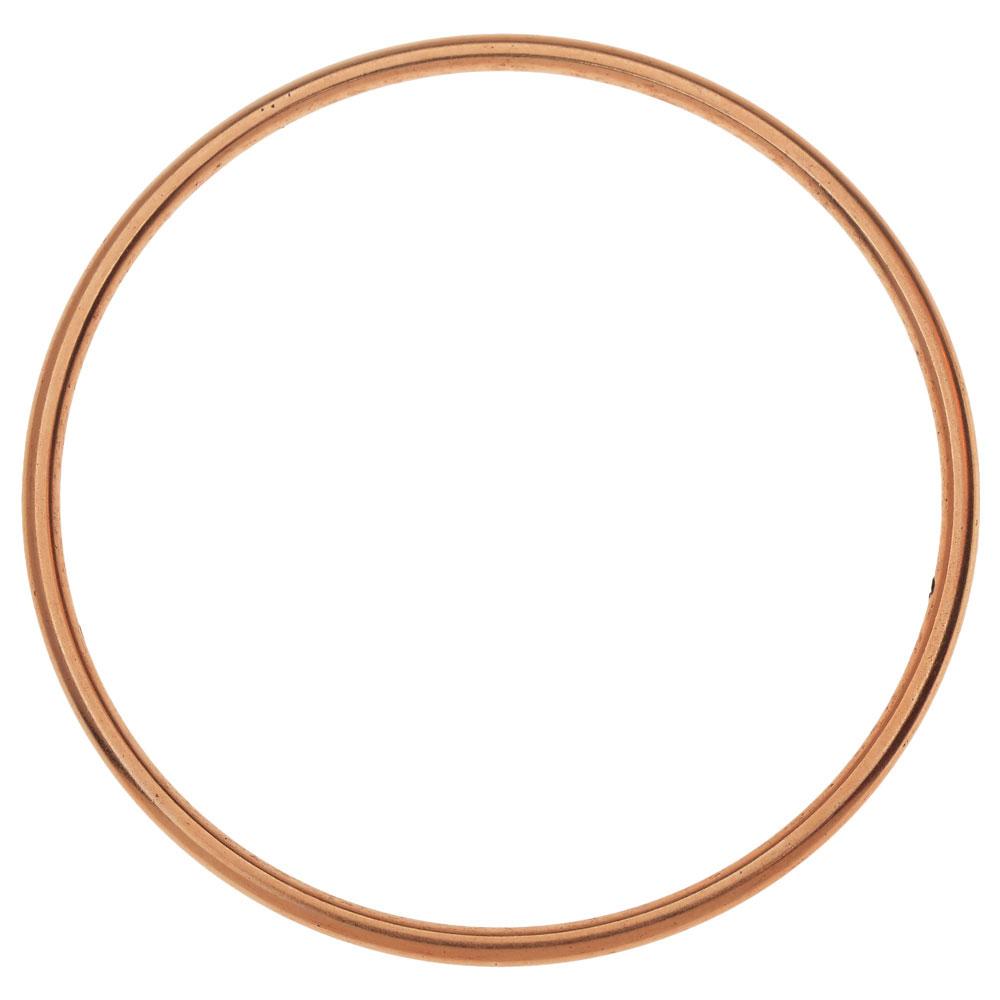 Final Sale - Nunn Design Open Frame, Hoop 49.5mm, 1 Piece, Antiqued Copper
