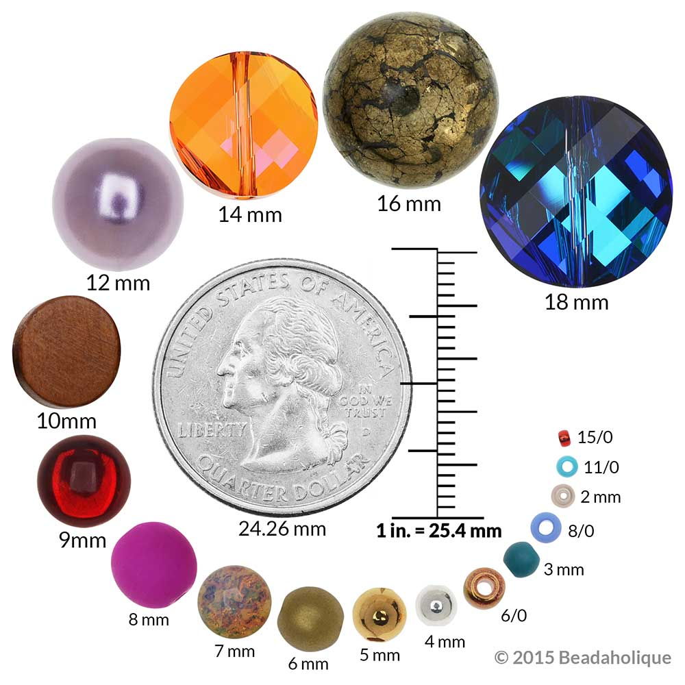 Faux Fire Opal Foil Glass Cabochon Round 7mm (2)