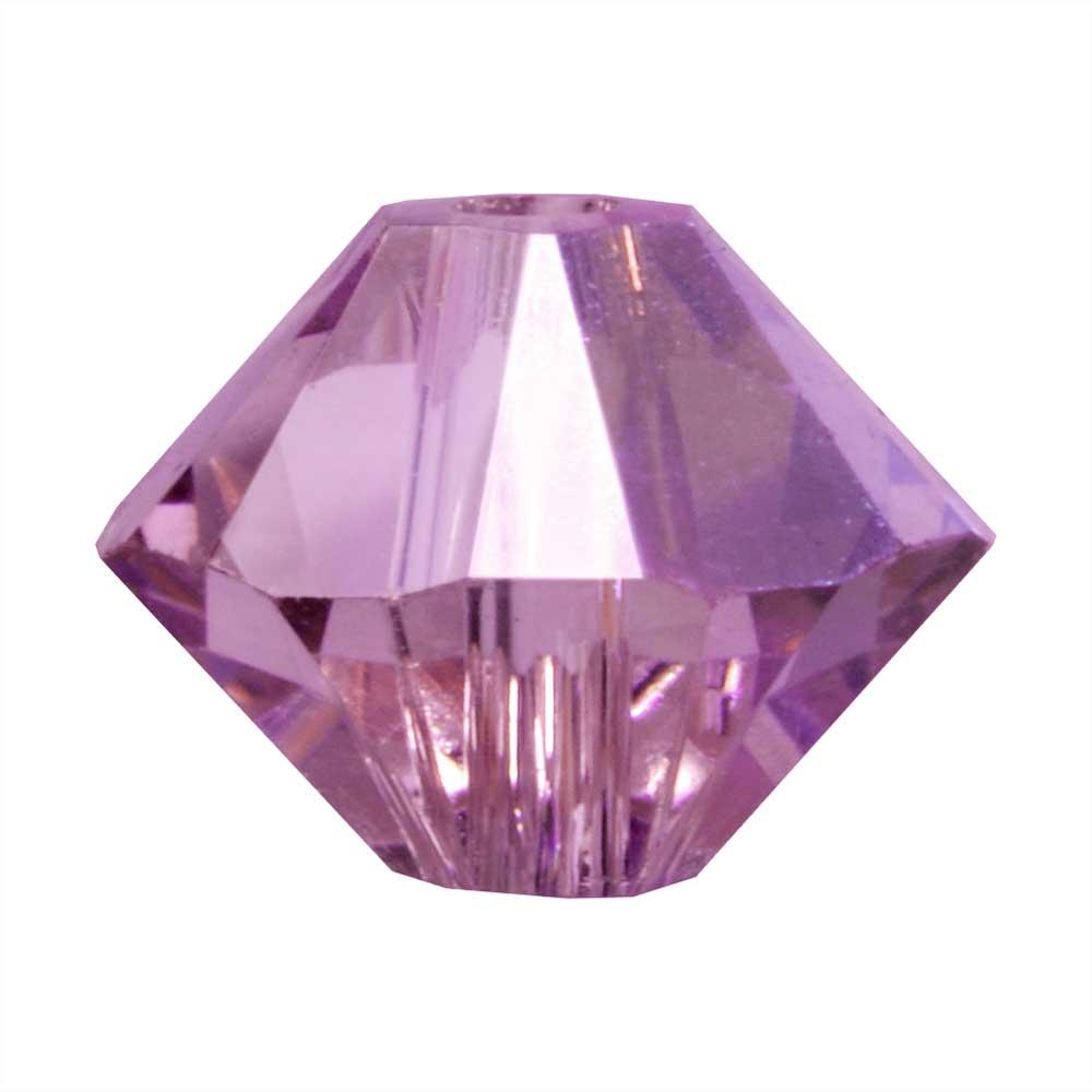 Swarovski Crystal, #5328 Bicone Beads 3mm, 25 Pieces, Iris