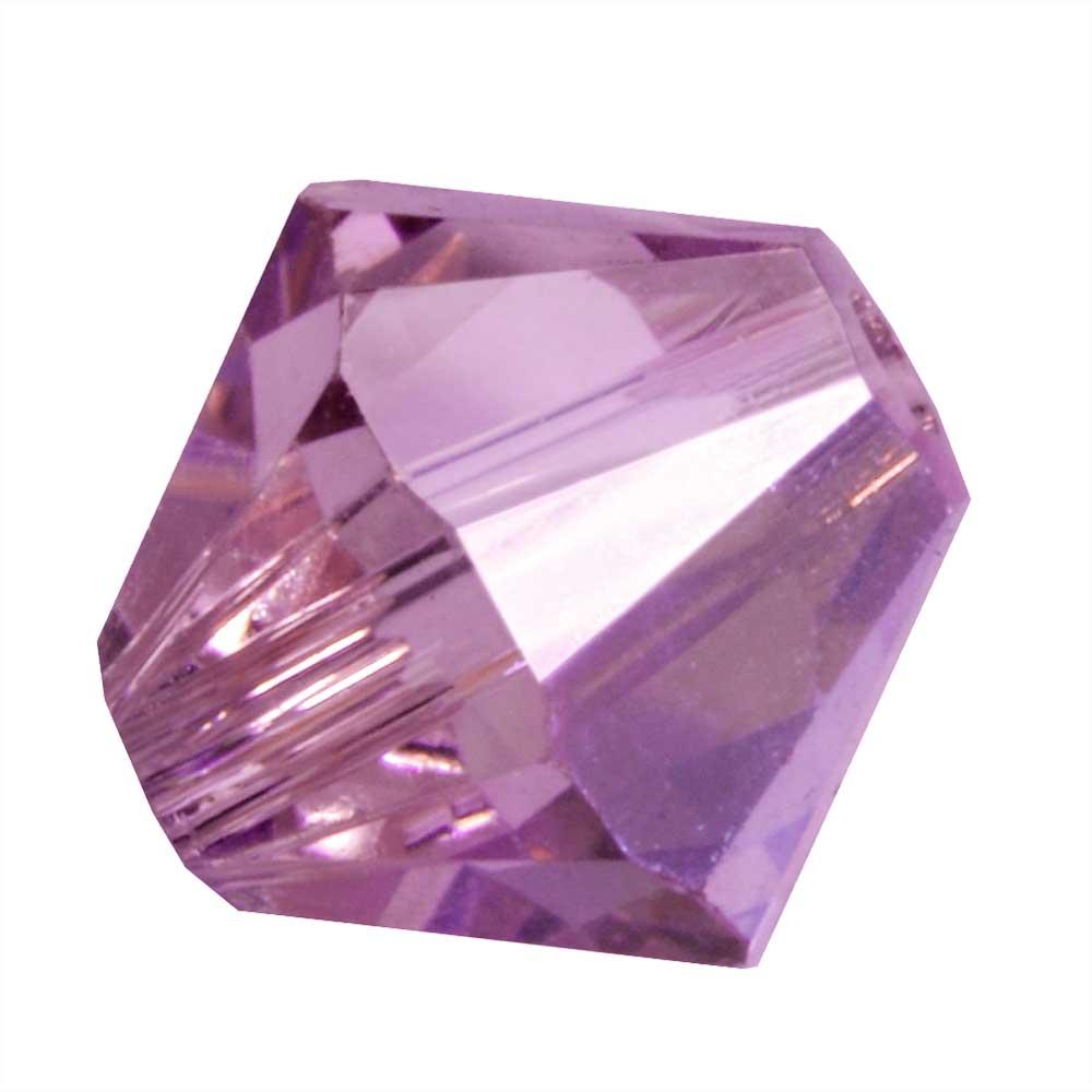 Swarovski Crystal, #5328 Bicone Beads 5mm, 24 Pieces, Iris