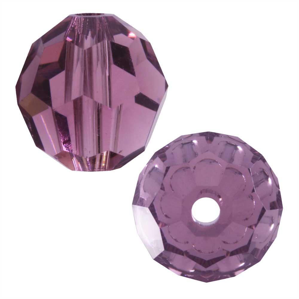 Swarovski Crystal, #5000 Round Beads 8mm, 8 Pieces, Iris