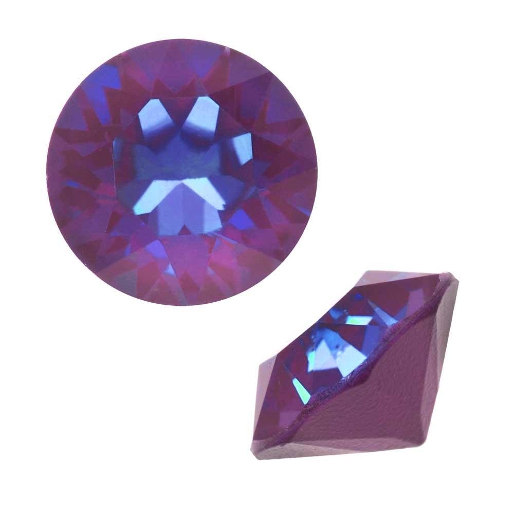 Swarovski Crystal, #1088 Xirius Round Stone Chatons ss39, 6 Pieces, Crystal Burgundy DeLite