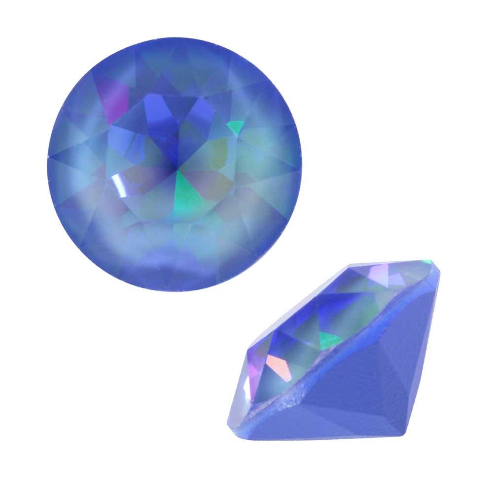 Swarovski Crystal, #1088 Xirius Round Stone Chatons ss39, 6 Pieces, Crystal Ocean DeLite