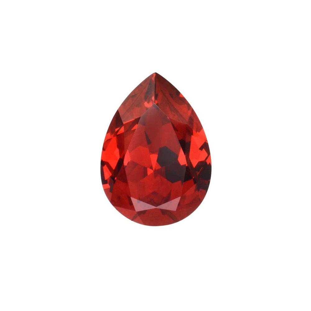 Swarovski Crystal, #4320 Pear Fancy Stone 14x10mm, 1 Piece, Scarlet F