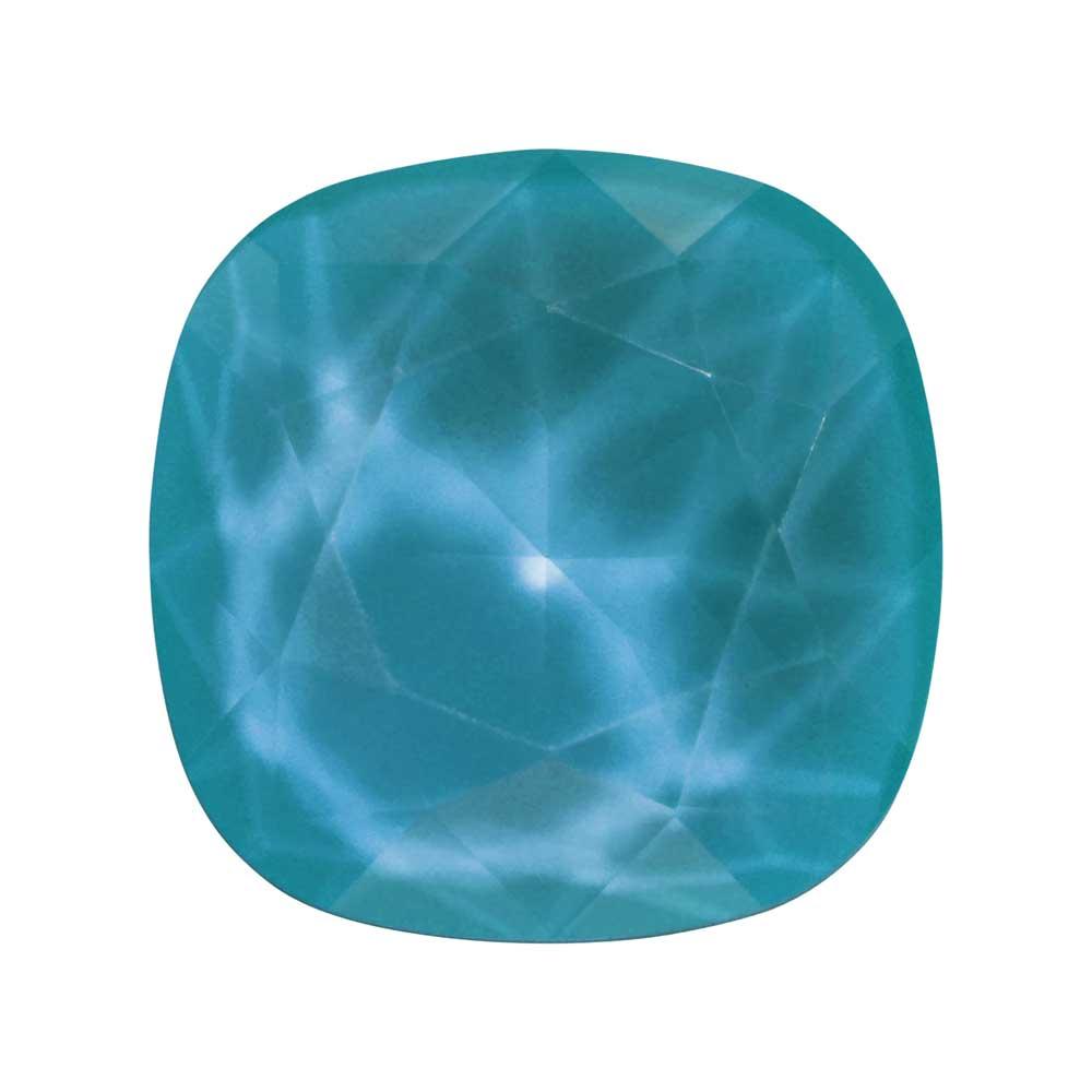 Swarovski Crystal, #4470 Cushion Fancy Stone 12mm, 1 Piece, Crystal Azure Blue