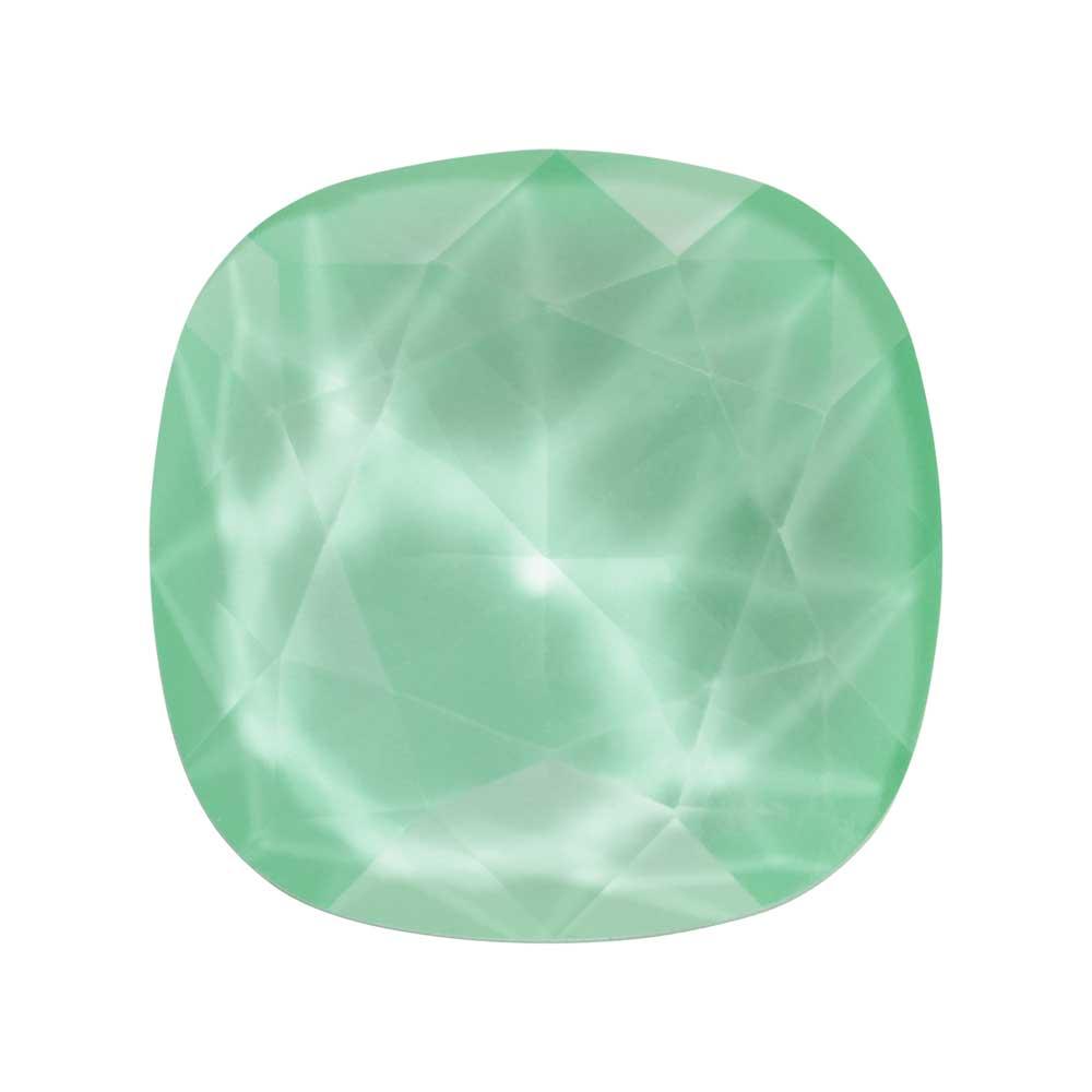 Swarovski Crystal, #4470 Cushion Fancy Stone 12mm, 1 Piece, Crystal Mint Green