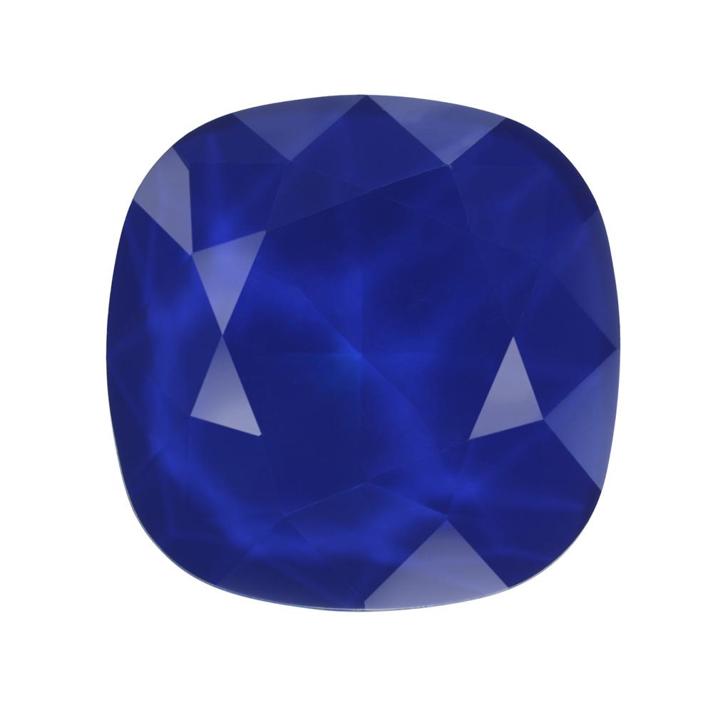 Swarovski Crystal, #4470 Cushion Fancy Stone 12mm, 1 Piece, Crystal Royal Blue