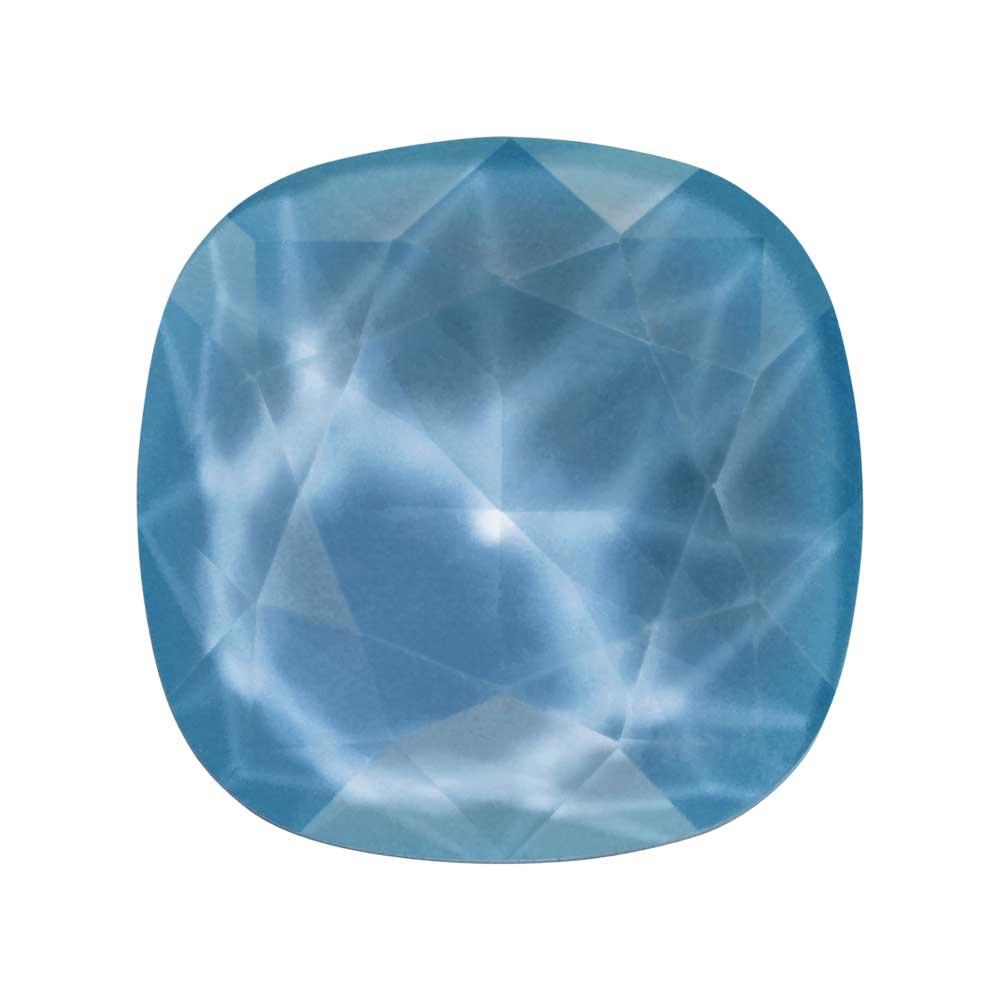 Swarovski Crystal, #4470 Cushion Fancy Stone 12mm, 1 Piece, Crystal Summer Blue