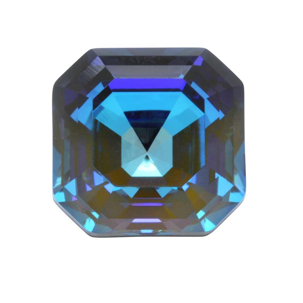 Swarovski Crystal, #4480 Imperial Fancy Stone 10mm, 1 Piece, Crystal Army Green DeLite