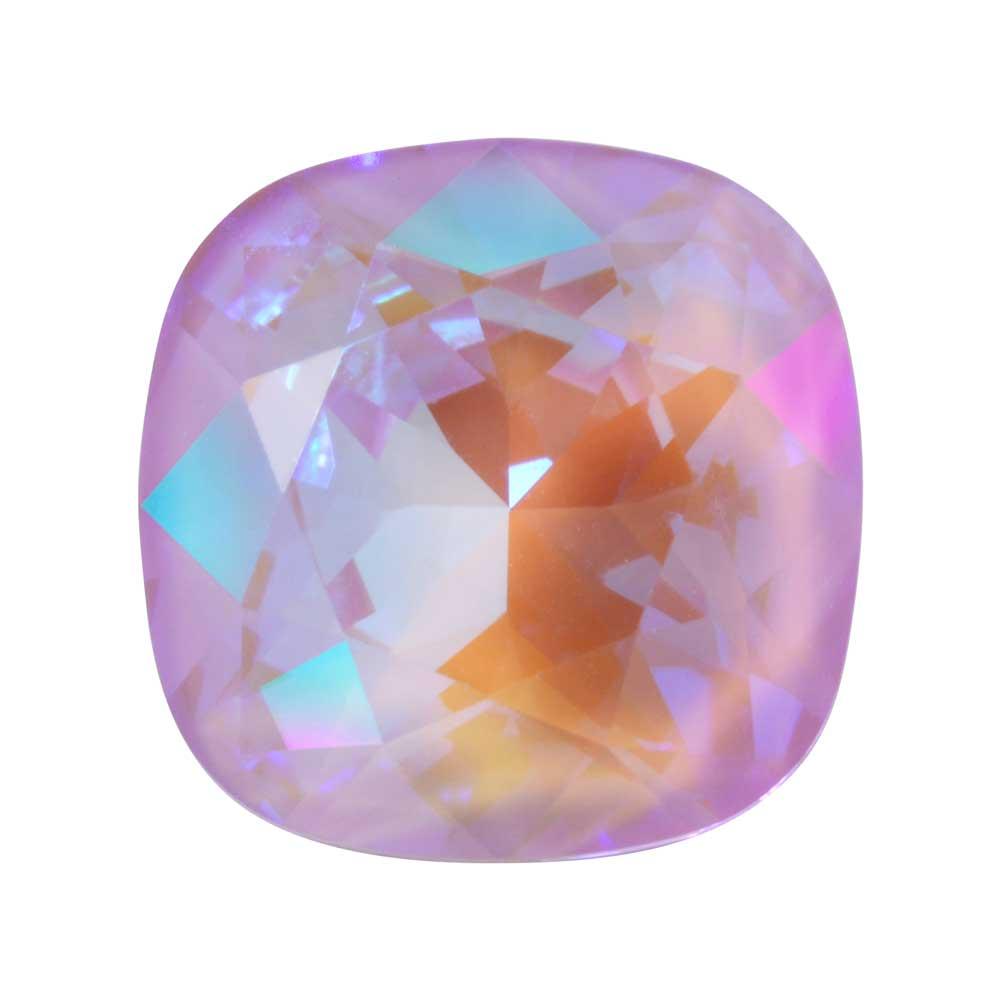 Swarovski Crystal, #4470 Cushion Fancy Stone 12mm, 1 Piece, Crystal Lavender DeLite