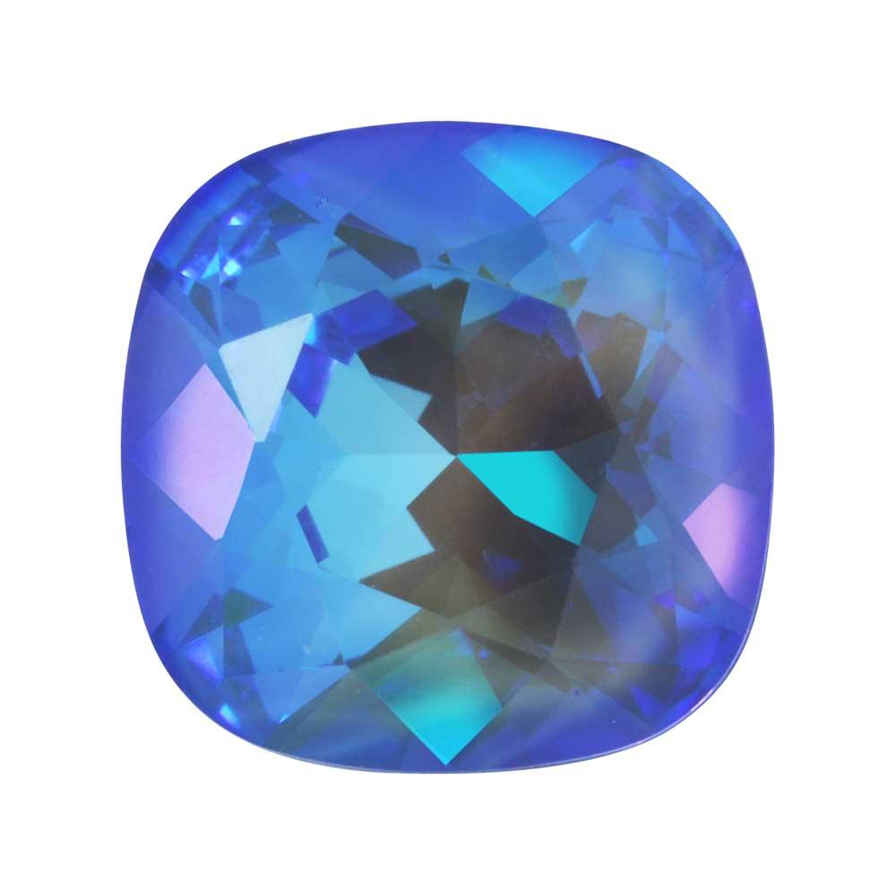 Swarovski Crystal, #4470 Cushion Fancy Stone 12mm, 1 Piece, Crystal Ocean DeLite