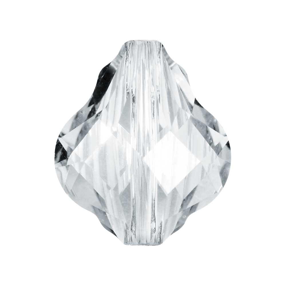 Swarovski Crystal, #5058 Baroque Bead 14mm, 1 Piece, Crystal