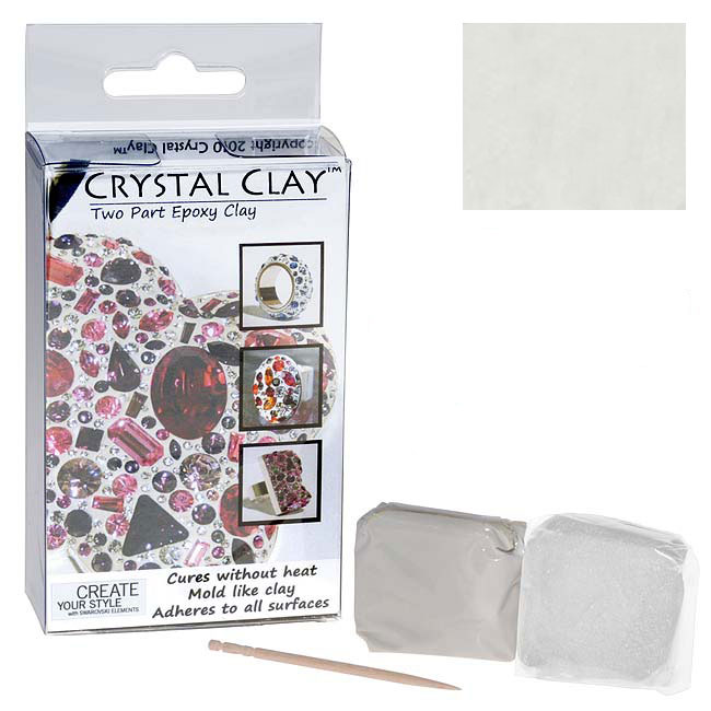 Crystal Clay 2-Part Epoxy Clay Kit - White 50g