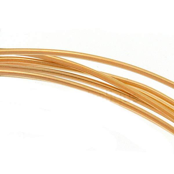 26 Ga half hard- 6 feet or Wire 14K Gold Filled Wire Jewlery Craft Wire