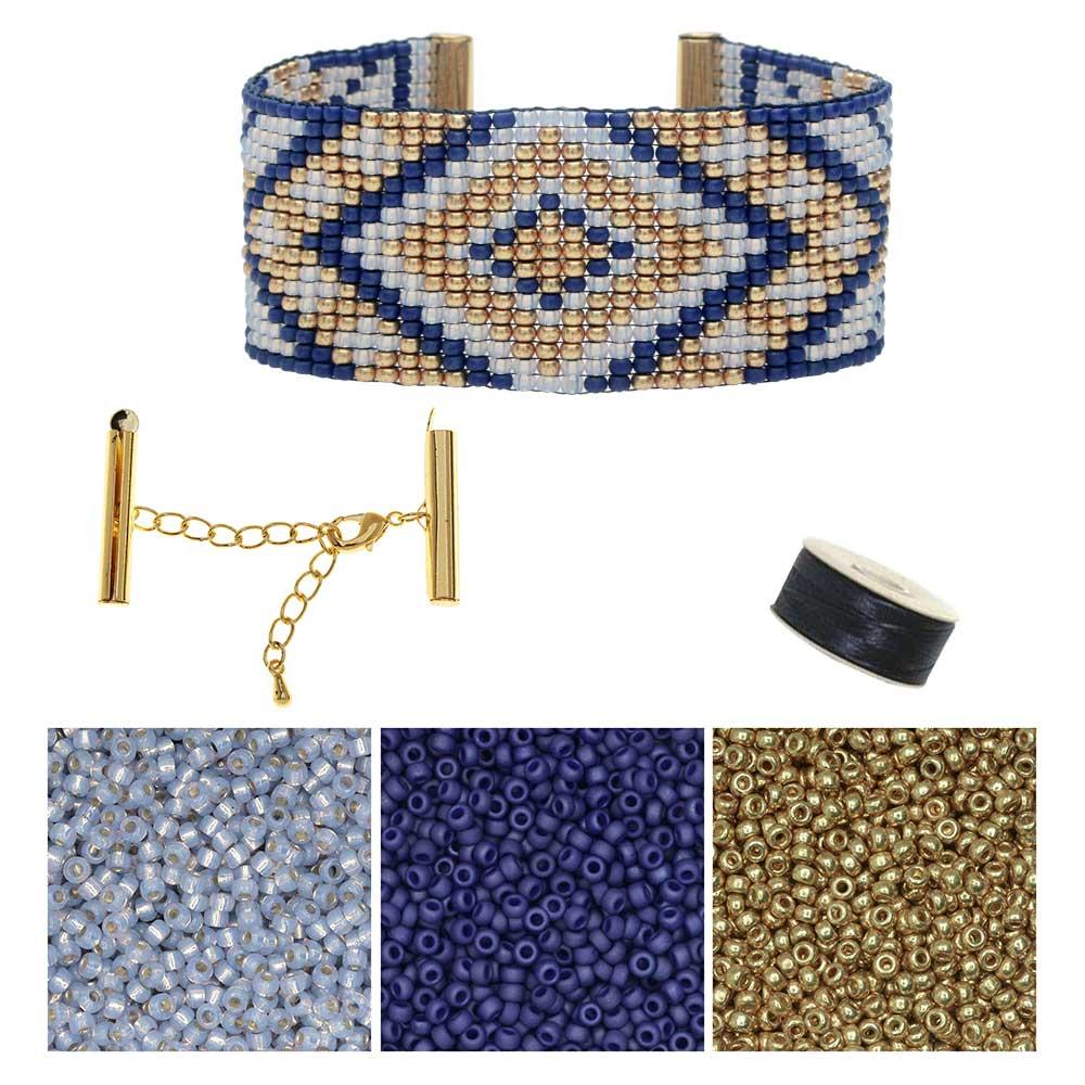 Refill - First Snow Loom Bracelet - Exclusive Beadaholique Jewelry Kit