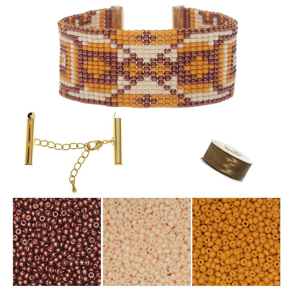 Refill - Jackson Hole Loom Bracelet - Exclusive Beadaholique Jewelry Kit
