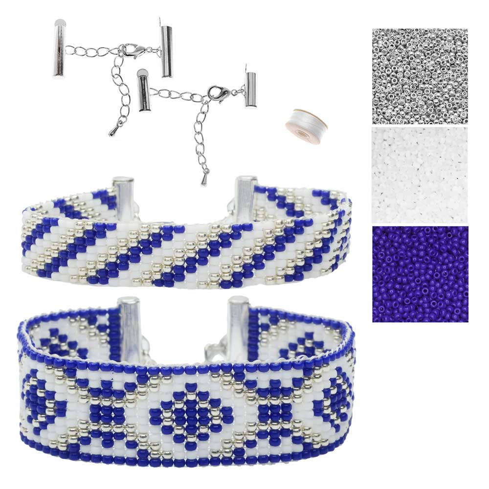 Refill - Rockwell Loom Bracelet Duo - Exclusive Beadaholique Jewelry Kit