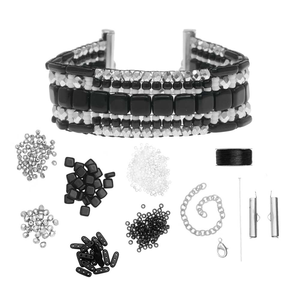 Refill - Patchworks Loom Bracelet - Midtown - Exclusive Beadaholique Jewelry Kit