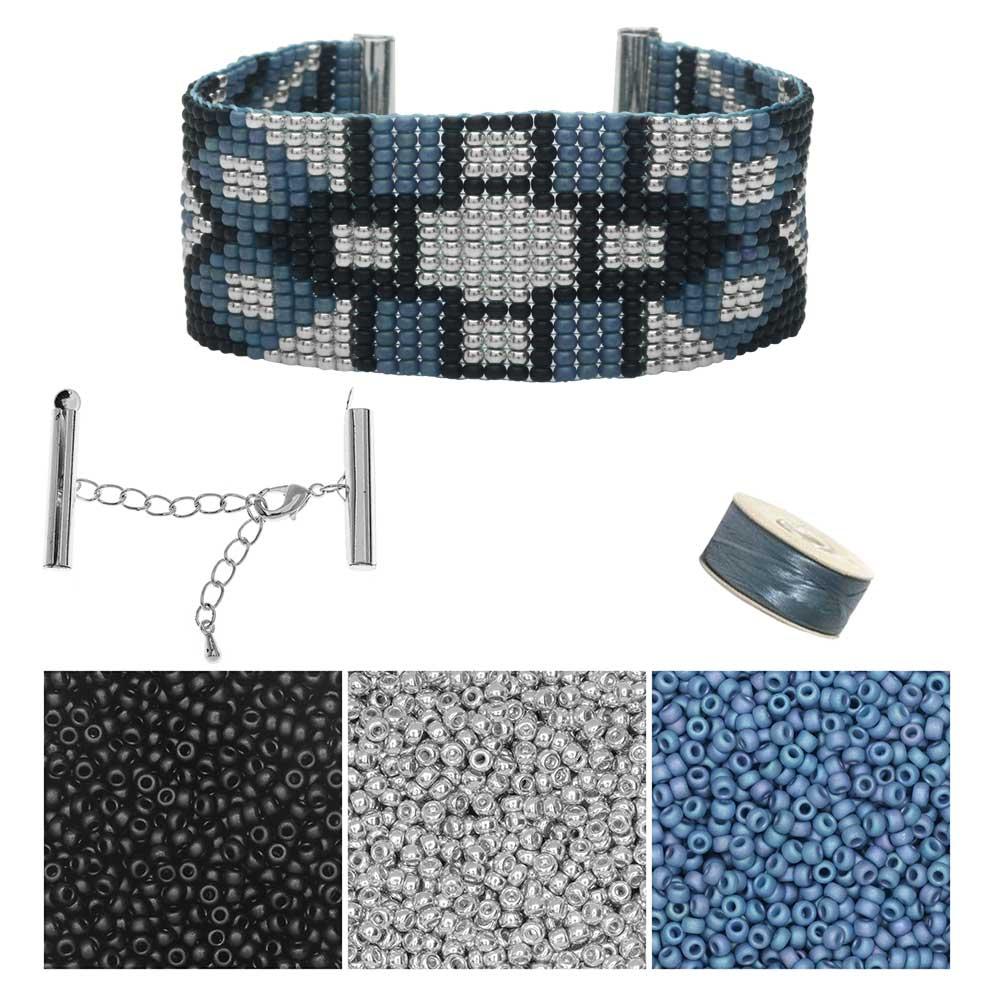 Refill - Glacier Park Loom Bracelet - Exclusive Beadaholique Jewelry Kit