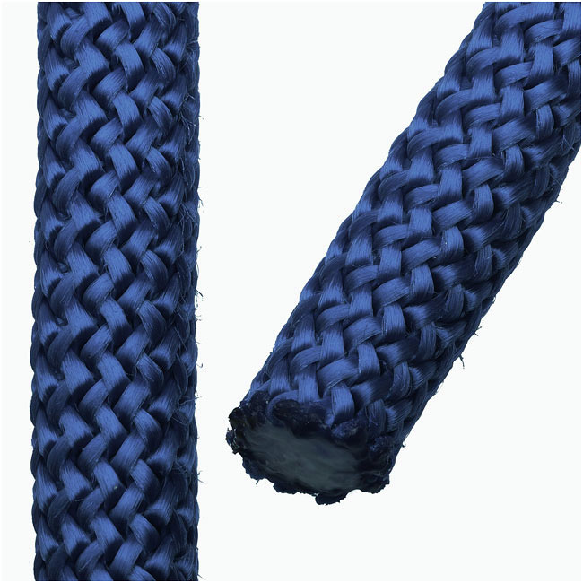 Final Sale - Climbing Rope Nylon Cord, Knot and Braid Necklaces and Bracelets 10mm, 3 Meters, Dark Blue