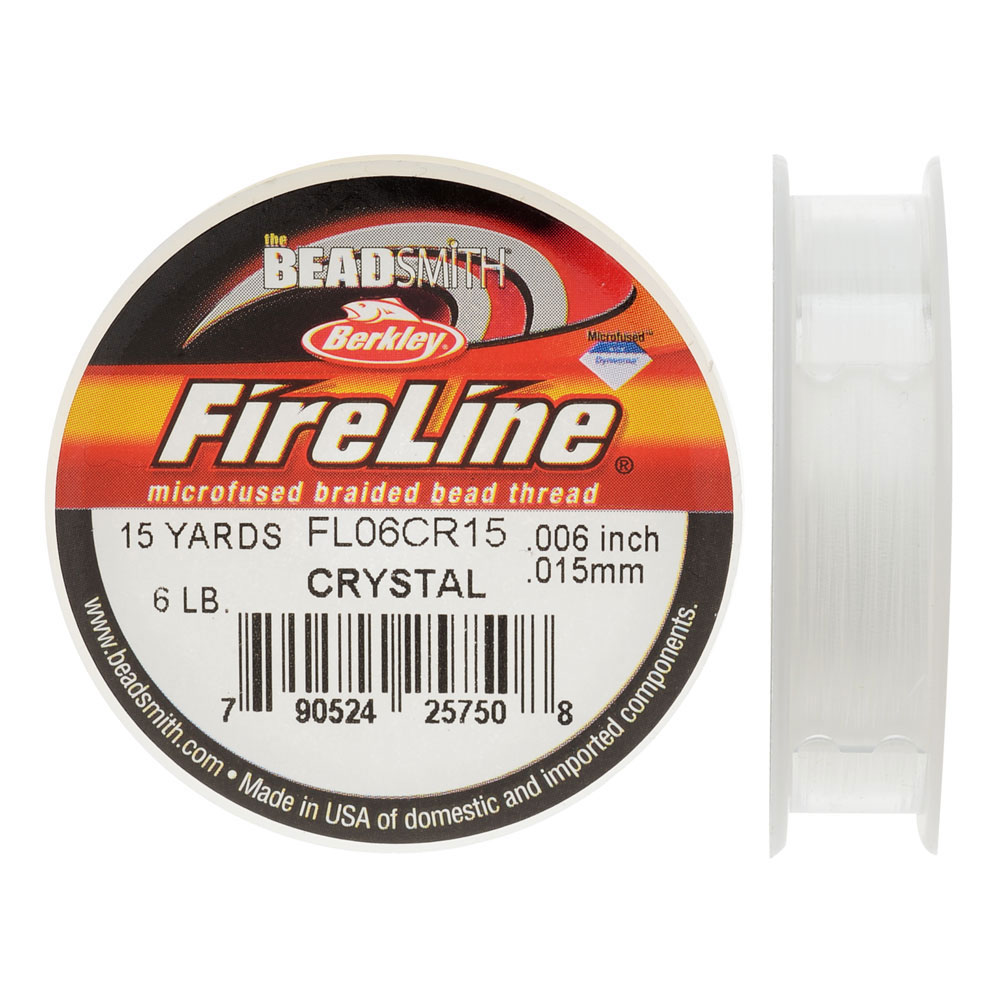 FireLine Braided Beading Thread, 6lb Test and 0.006