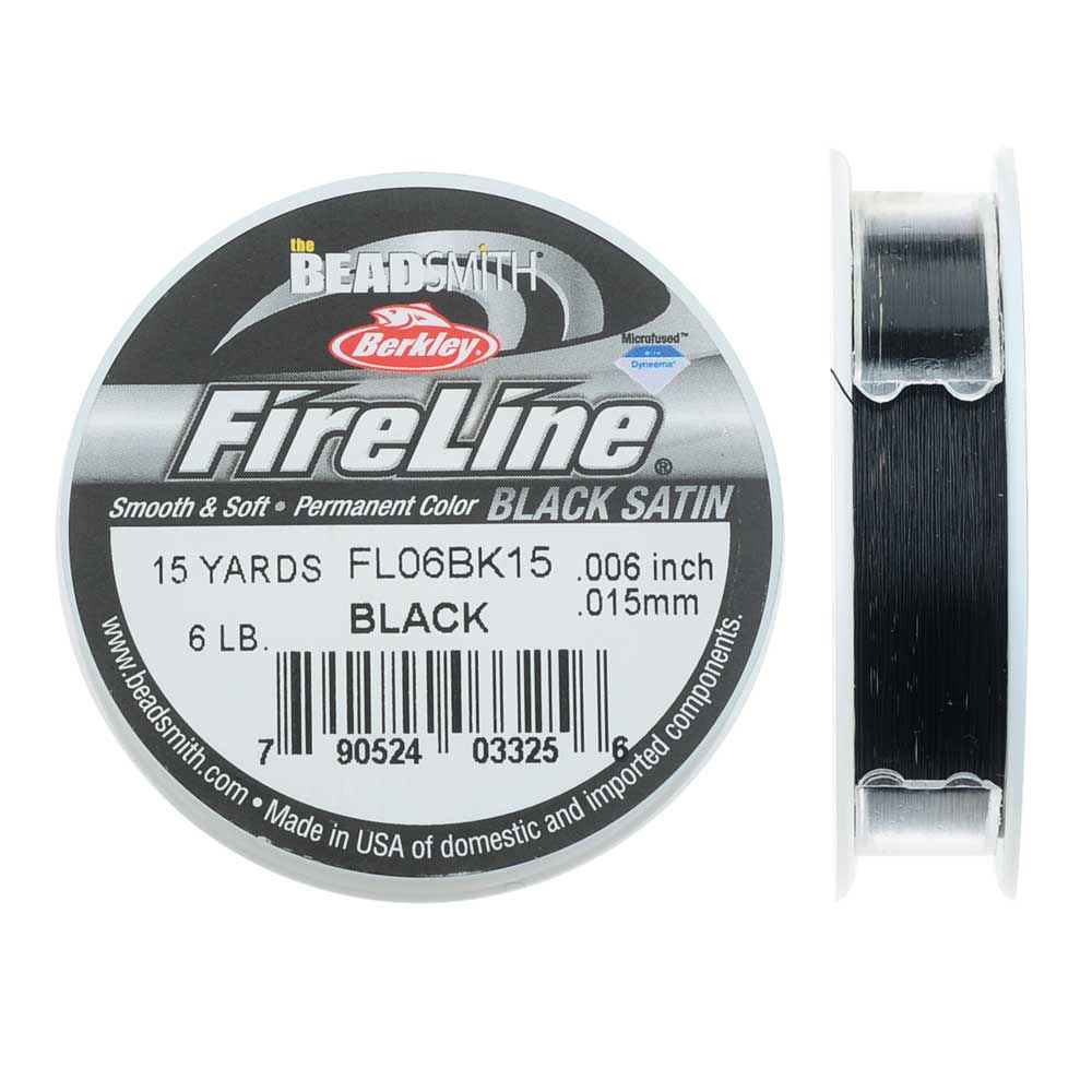 FireLine Braided Beading Thread, 6lb Test Weight and .006