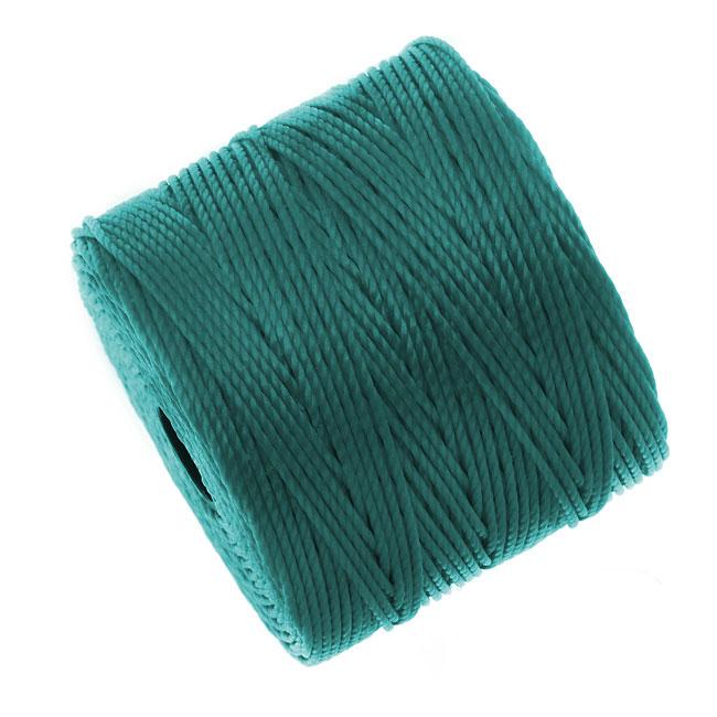Super-Lon (S-Lon) Cord - Size #18 Twisted Nylon - Teal (77 Yard Spool)