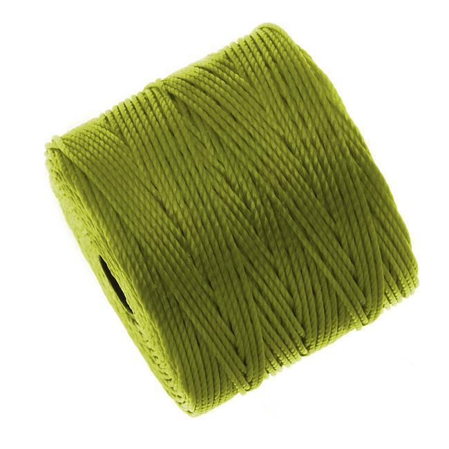 Super-Lon (S-Lon) Cord - Size #18 Twisted Nylon - Chartreuse (77 Yard Spool)