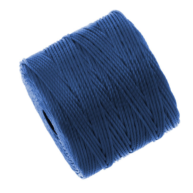 Super-Lon (S-Lon) Cord - Size #18 Twisted Nylon - Blue (77 Yard Spool)