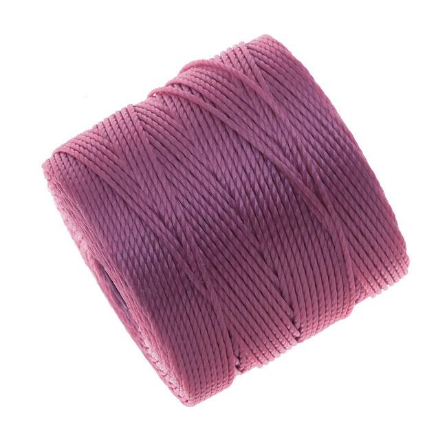 Super-Lon (S-Lon) Cord - Size #18 Twisted Nylon - Light Orchid (77 Yard Spool)