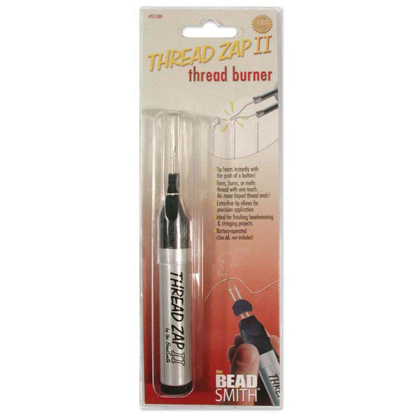 The Beadsmith Cordless Thread Zap II Thread Burner Tool