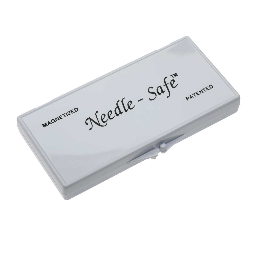 Needle-Safe Magnetized Needle Case, Rectangle 4.5x 2.25 Inches, 1 Case