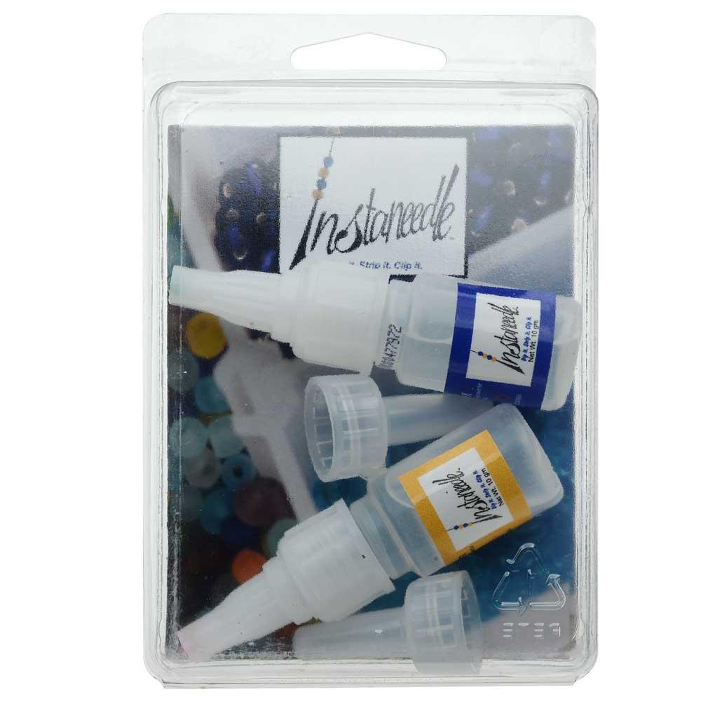 The Beadsmith InstaNeedle Kit, Create a Beading Needle from Thread, 1 Kit