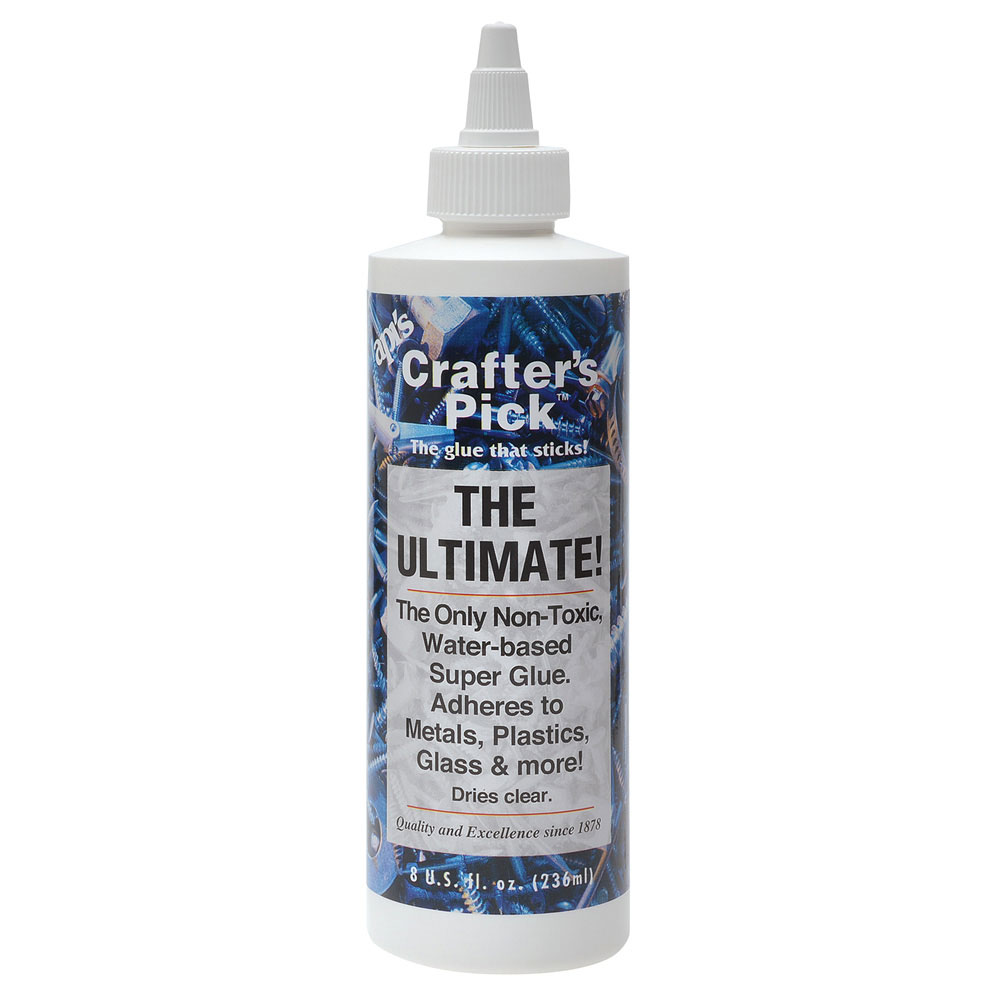 Crafter's Pick The Ultimate Permanent Glue Cement Adhesive 8 OZ