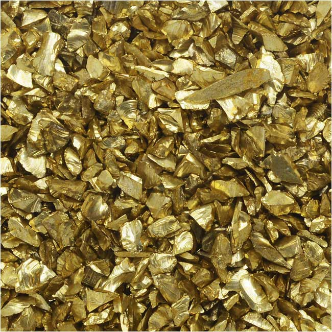 Judikins Glitter Roxs, Shard Glass, 14 Gram Container, Dollar Gold