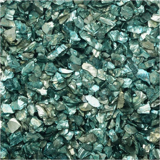 JudiKins Glitter Roxs, Shard Glass, 14 Gram Container, Turquoise