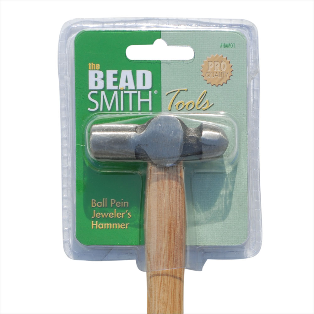 Jeweler's Ball Pein Hammer - 2 1/2 Inch Head - Metal Smithing