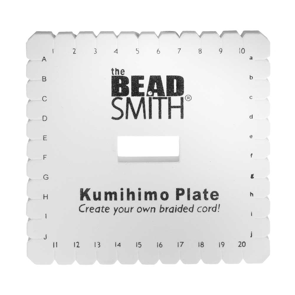 Kumihimo Square Plate For Japanese Flat Braiding