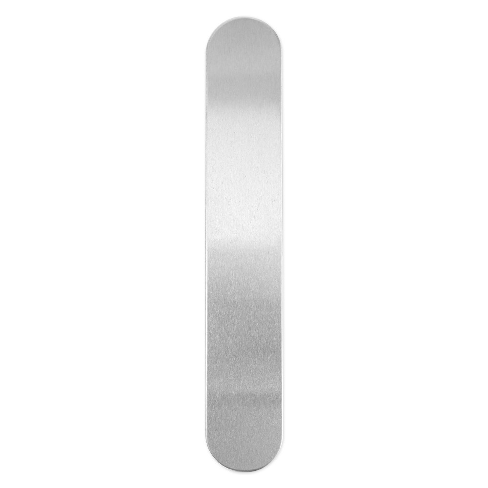 Final Sale - ImpressArt Soft Strike Stamping Blank, Bracelet Strip 1 x 6 Inches, 5 Pieces, Aluminum