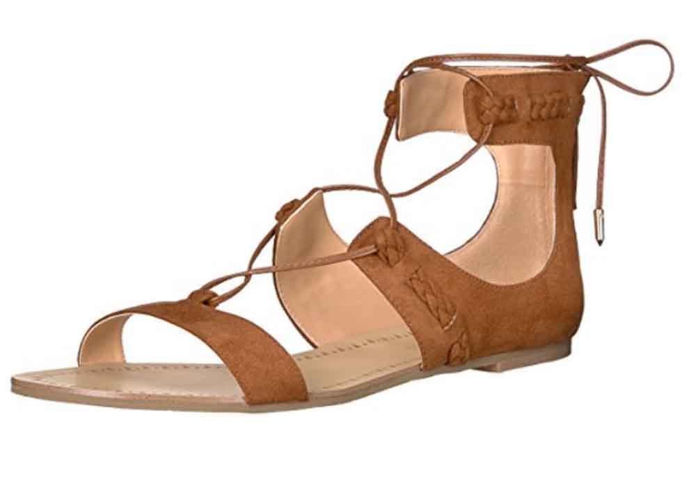 Daya by Zendaya Womens Sonora Gladiator Sandal Cognac Size 75