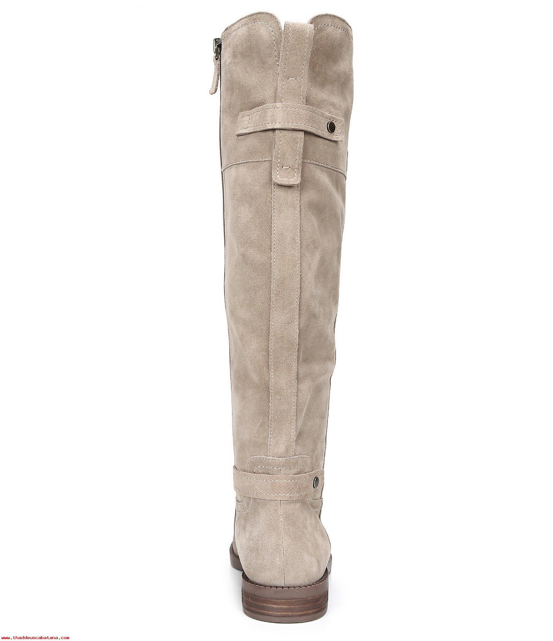439fa1a4a9774 Franco Sarto Sarto Women's COLEY Riding Boot(WIDE CALF) SANDSTONE ...