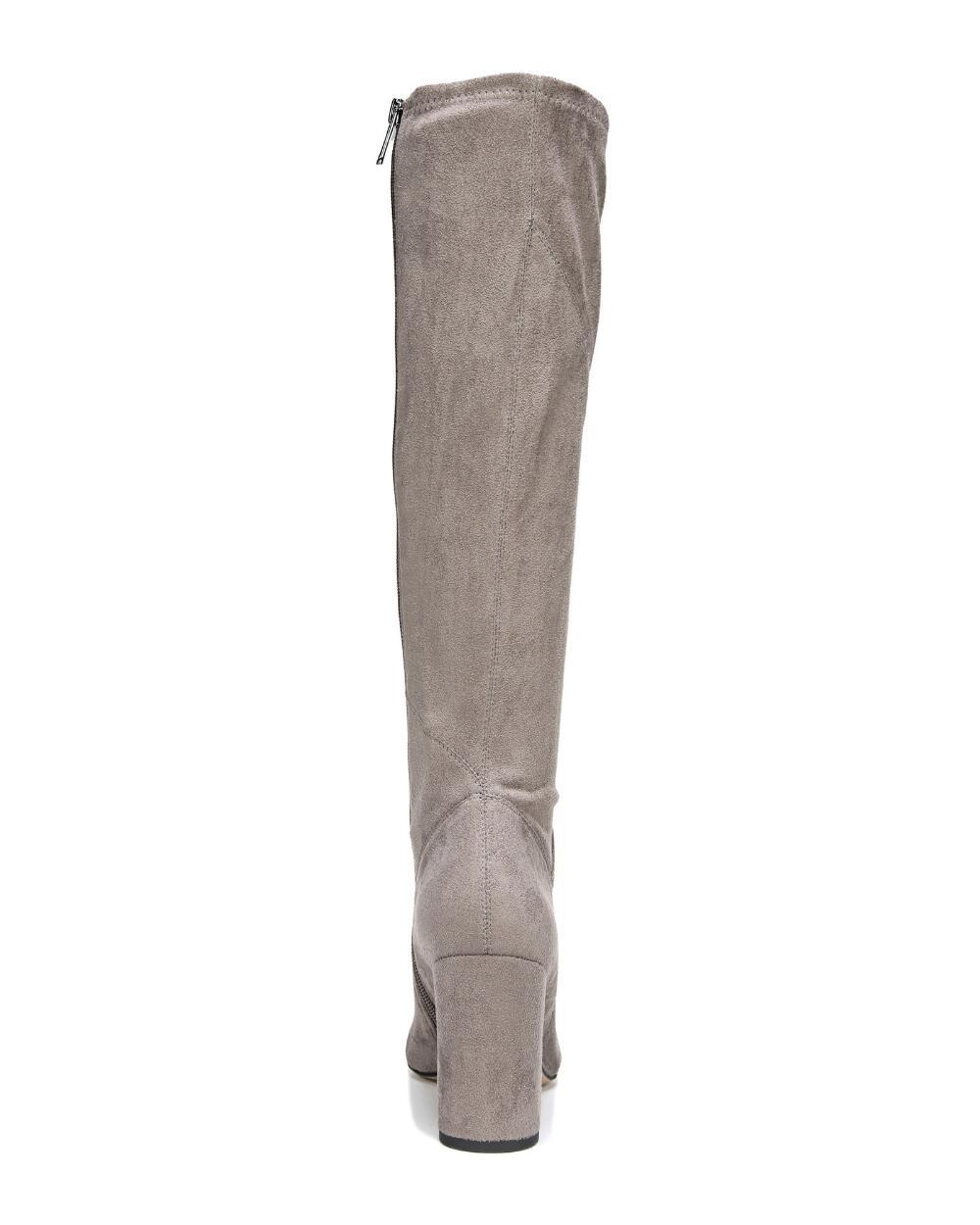 Franco Sarto damen FLAVIA Knee High Stiefel grau SUEDE SUEDE SUEDE ccc51d