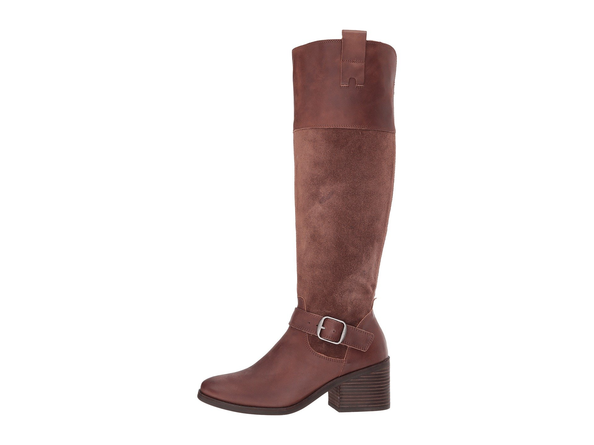 Lucky Women's LK-KAILAN Equestrian Boot (WIDE CALF) CALF) CALF) TOBACCO 6b0675