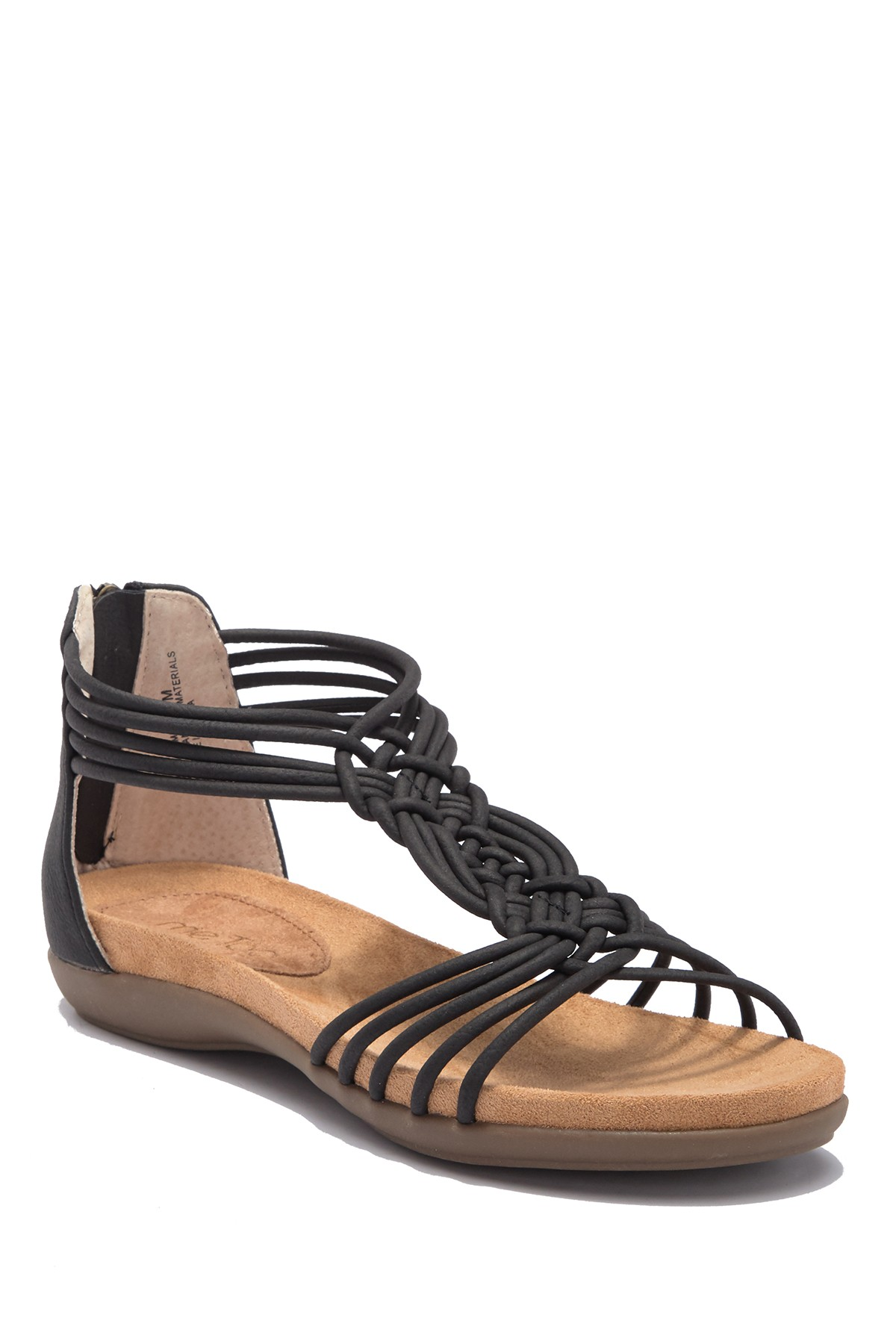 25cd2bc9490 Details about Me Too Womens CAMILLA Braided Strappy Sandal