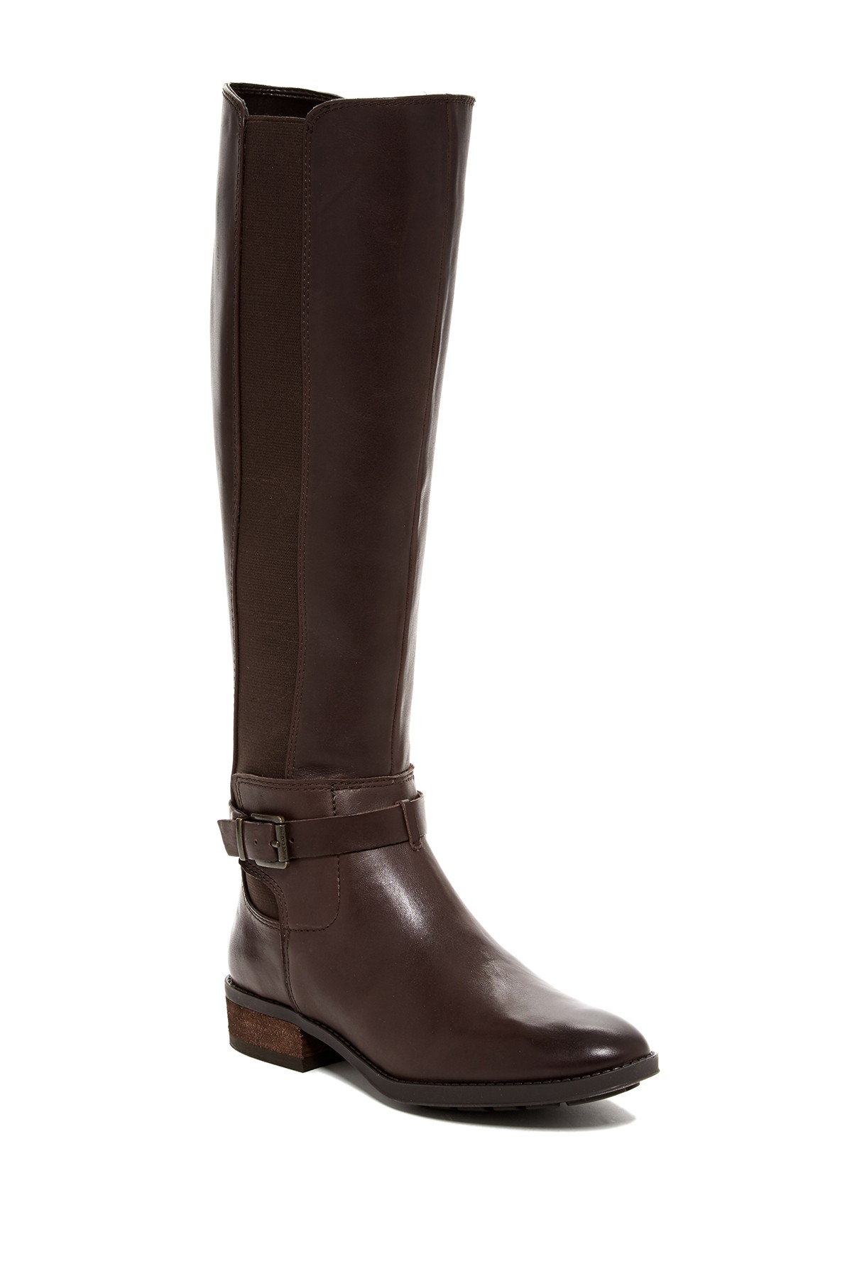 f633919a4bb Vince Camuto Women s PIPPER Riding Boot CHOCOLATE(WIDE CALF)
