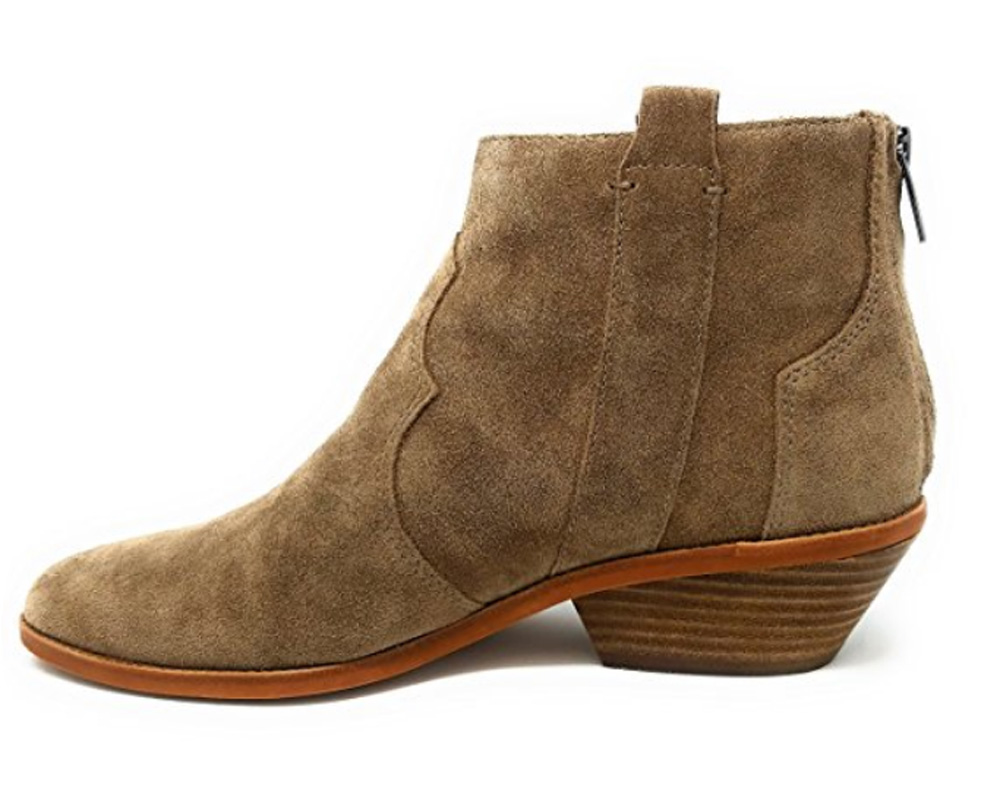 Vince Camuto THALLY Low-Heel Western Ankle Boots
