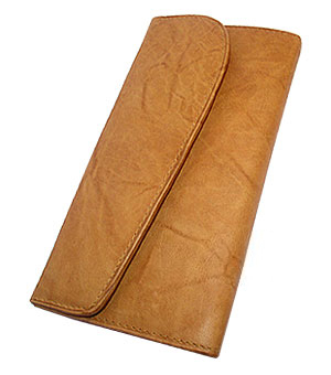 MW302575-New-Genuine-Cowhide-Leather-Checkbook-Wallet thumbnail 7