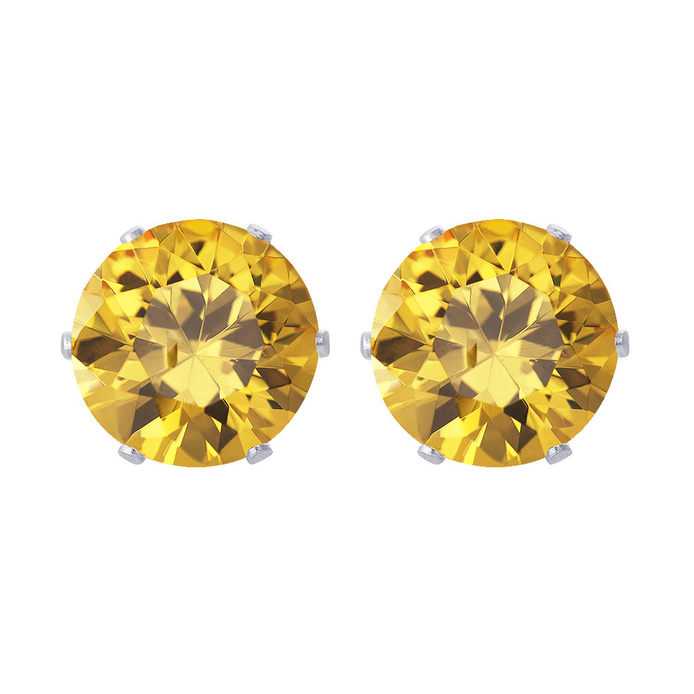 New-925-Sterling-Silver-Cubic-Zirconia-Prong-Set-Round-CZ-Stud-Earrings thumbnail 20