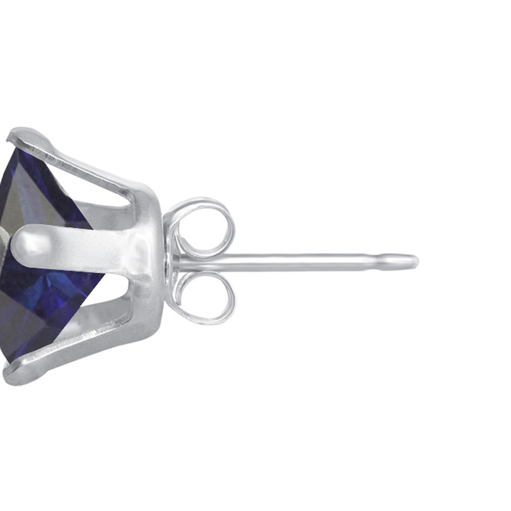 New-925-Sterling-Silver-Cubic-Zirconia-Prong-Set-Star-CZ-Stud-Earrings thumbnail 15