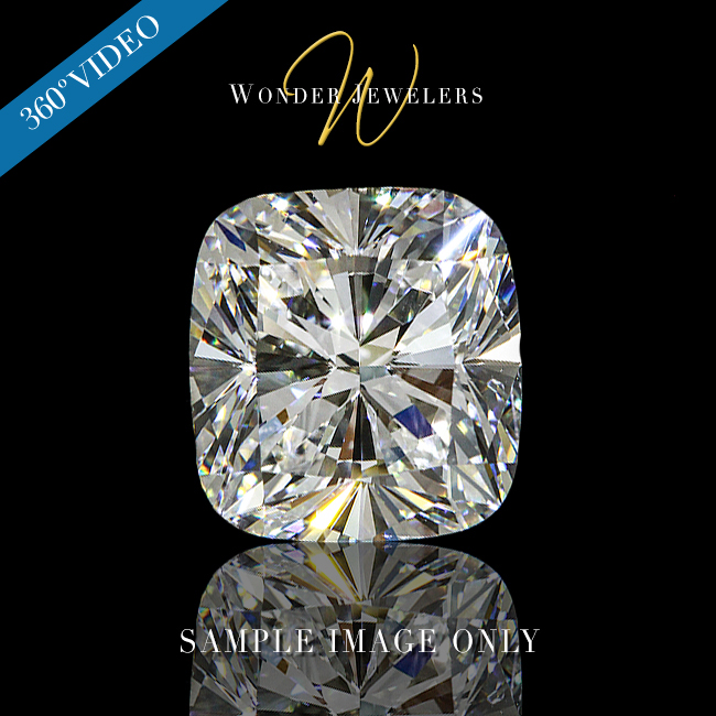 1.5 Carat Cushion Cut Loose Diamond GIA Certified E/SI1 + Free Ring (5333888226)